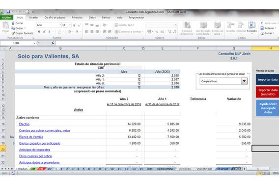 Plantilla De Excel Para Ajuste Por Inflación Recpam - Rt6