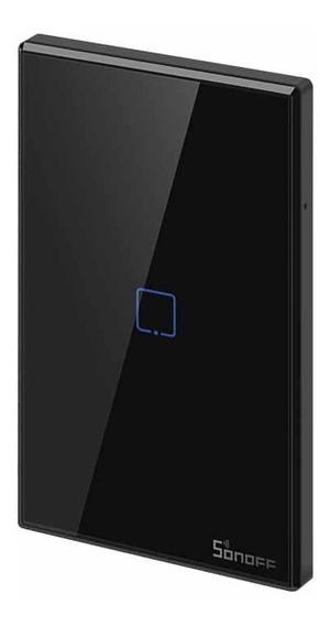 Sonoff T3 Us 1 Canal - Tecla De Pared Touch Wifi T3us1c