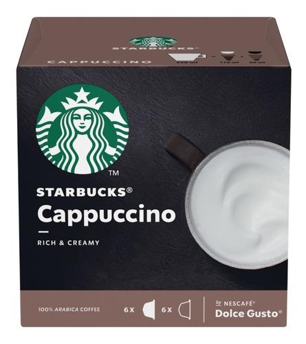 Starbucks Cappuccino Cápsulas Dolce Gusto Oficial