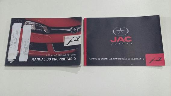 Manual Proprietário Jac J3 J3 Turin