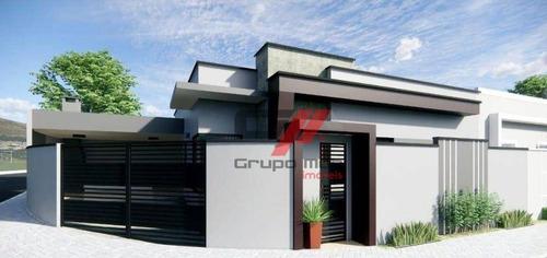 Imagem 1 de 8 de Casa Com 3 Dormitórios À Venda, 107 M² Por R$ 350.000 - Residencial Esperança - Caçapava/sp - Ca0477