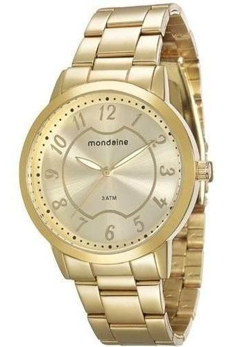 Relógio Mondaine Feminino Analógico Dourado 83289lpmvde1