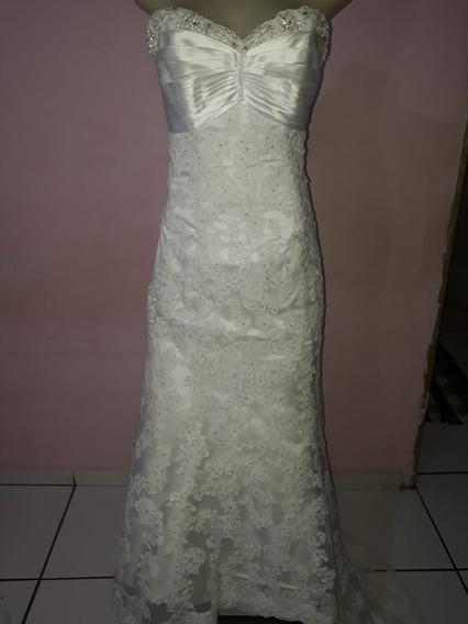 Vestido De Noiva 34/36.
