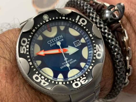Citizen Orca Promaster Eco-drive Titanium Divers 200m Japan