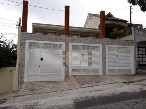 03 Sobrados Com 3 Dormitórios À Venda, Cada Um Com 150 M² Por R$ 750.000 - Parque São Domingos - São Paulo/sp - So0718
