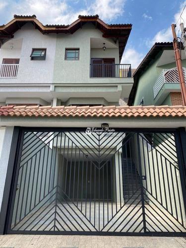 Sobrado Com 3 Dormitórios À Venda Por R$ 620.000,00 - Vila Rosália - Guarulhos/sp - So0482