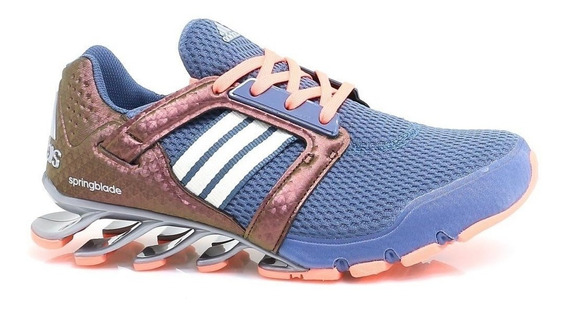 Tenis adidas Springblade E-force Dama Gris Original En Caja