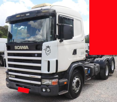 Scania- R400- 6x2 - 2005, Com Motor Feito