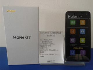 Haier G7 16gb Nuevo, Con Garantia, Tienda Fisica Dual Sim
