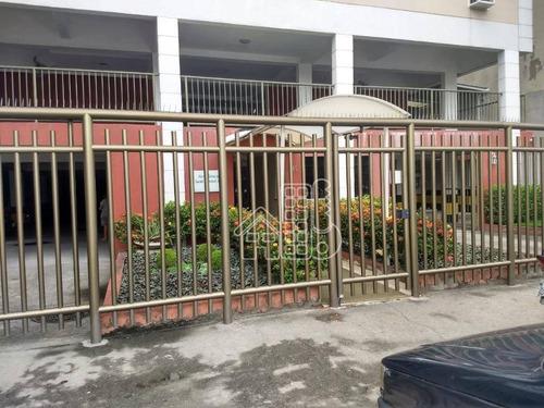 Apartamento Com 2 Dormitórios À Venda, 60 M² Por R$ 270.000,00 - Fonseca - Niterói/rj - Ap4047