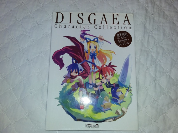 Disgaea Character Collection 1&2 Oficial Playstation Artbook