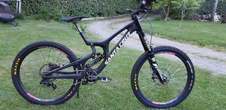 Santa Cruz V10 Cc Bicicleta Descenso Dh 27.5 Full Carbono