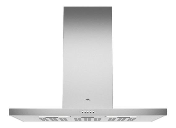 Extractor purificador cocina TST Nihuil ac. inox. de pared 600mm x 40mm x 510mm plateado 220V