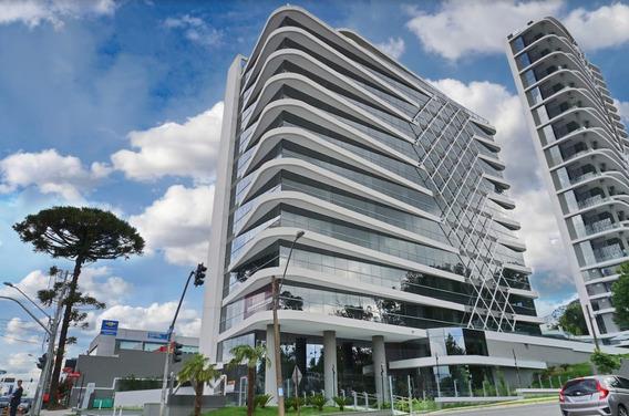 Conjunto Comercial/sala Em Curitiba - Pr - Sa0002_impr