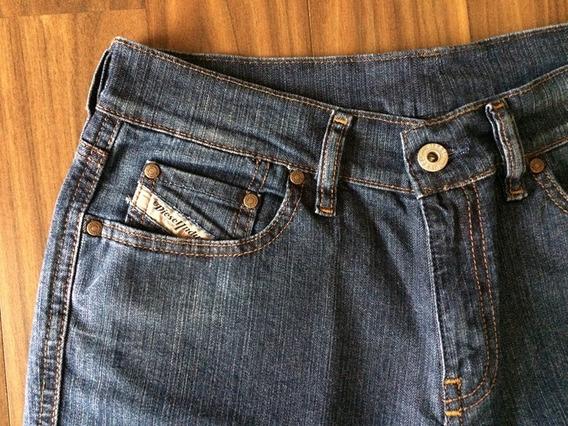 Calça Diesel Feminina Jeans Stretch 40 Importada Original