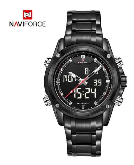 Reloj Naviforce Lujo Marca Blanco
