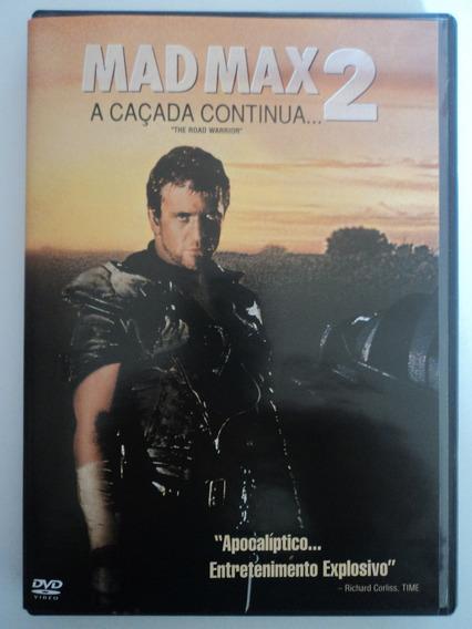 Dvd-mad Max 2:a Caçada Continua-mel Gibson:único Dono.