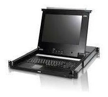 Monitor Rackeable 17 Con Switch Kvm 16 Ports
