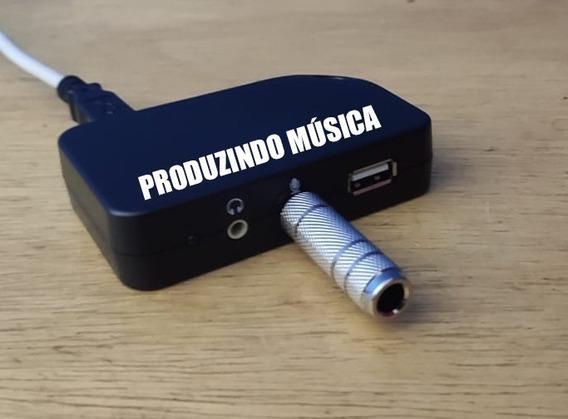 Interface De Áudio Usb Com Asio4all Para Sonar, Soundforge.