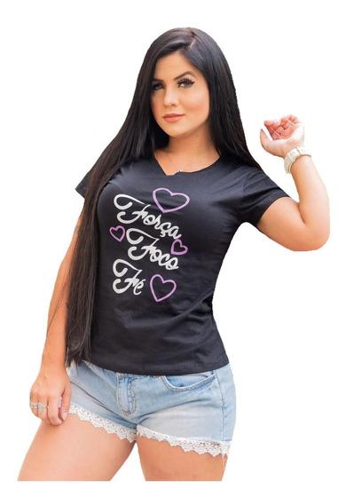 Kit 10 T Shirts Feminina Roupas Atacado Revenda