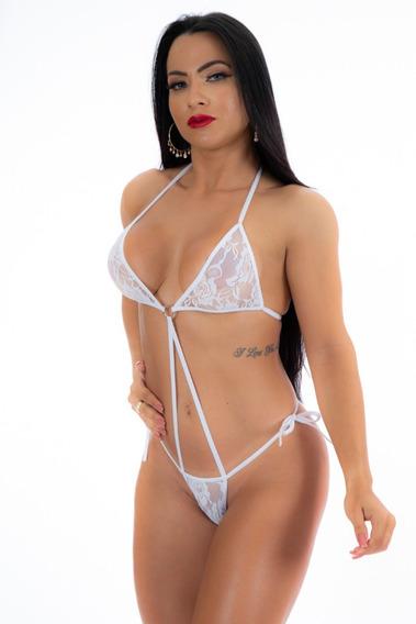 Mini Body Argola Sensual Erótica Fantasia - Pimenta Sexy