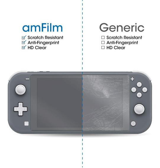 Melhor De Tela De Vidro Amfilm Nintendo Switch Lite 3 Pack