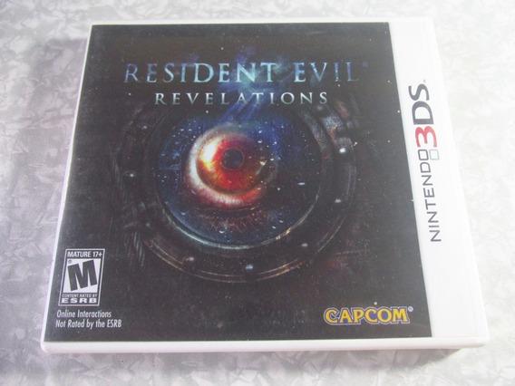Nintendo 3ds - Resident Evil Revelations Original Americano