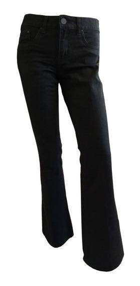 Jean Tall Mujer Ossira Ancho En Botamanga Rígido.613