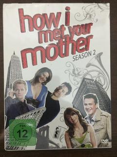 Box Dvd How I Met Your Mother Season 2 Temporada Lacrado