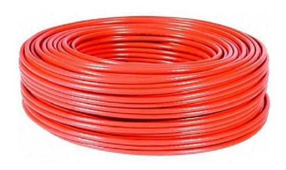 Rollo Cable Eléctrico Cal 10 Thw 100 Metros Rojo Regalalo