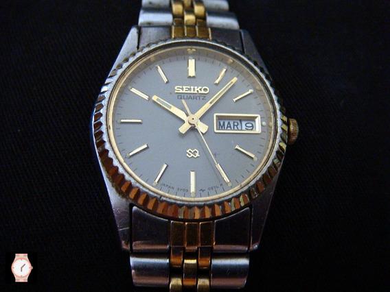 Bonito Reloj Seiko Quartz Para Dama Vintage