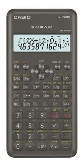 Calculadora Cientifica Casio Fx-100ms-2-w New Edition