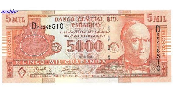 * Paraguai - 5000 Guaranies 2005 - P.223a - Fe *