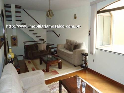 Imagem 1 de 17 de Casa Vende, Permuta, Sobrado Com Churrasqueira, Quintal, Jardim Messina - 91555 - 4491682