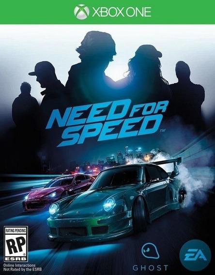 Jogo Need For Speed Para Xbox One Mídia Digital Env Digital