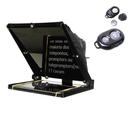 Teleprompter Portátil Gazpromptlite 10,5 Com Controle Remoto