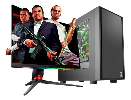 Imagen 1 de 8 de Pc Armada Gamer Intel Core I5 8gb Ram Ssd Gt1030 2gb