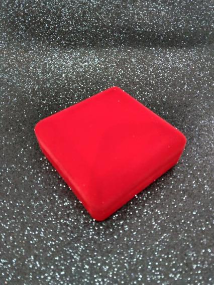 Caixa De Veludo Vermelha Para Bracelete