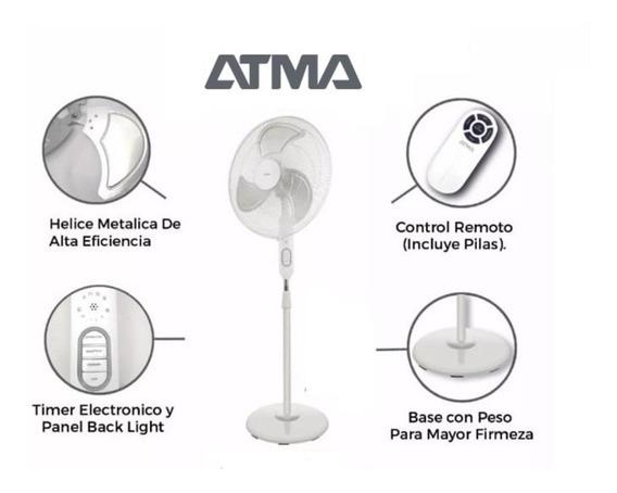 Ventilador De Pie 20 Hélice Metalica Con Control Remoto