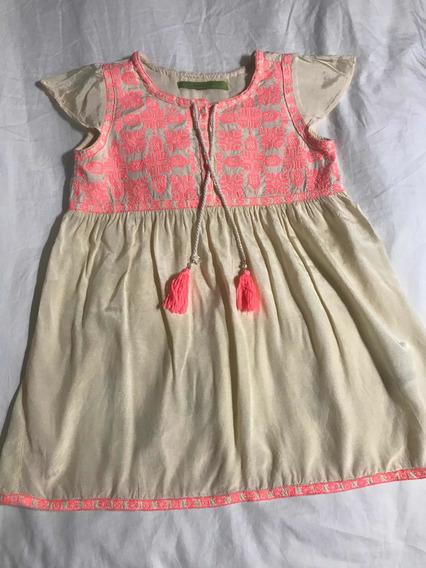 Vestido Rapsodia Niña Verano Rosa