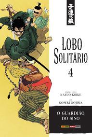 Kit Com 5 Mangás Lobo Solitario - Kazuo