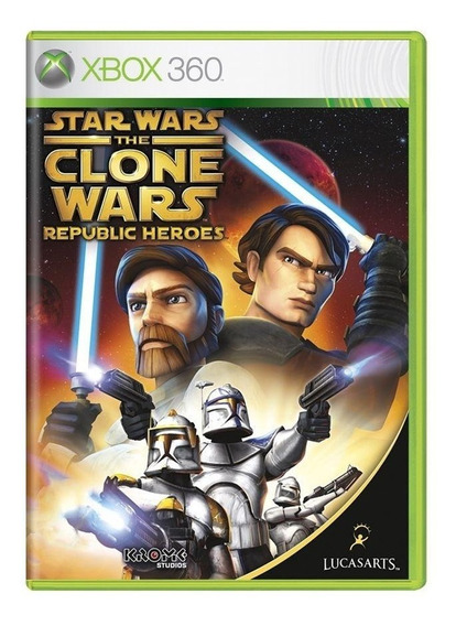 Star Wars The Clone Wars Republic Heroes Xbox 360 Física