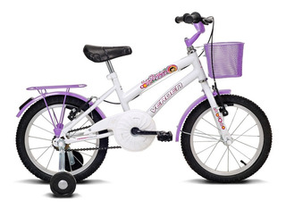 Bicicleta Breeze - Aro 16 - Branco E Lilás - Verden Bikes