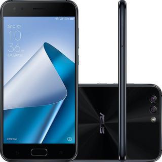 Smartphone Asus Zenfone 4 64gb 4gb Ram Android 7 Câmera 12mp + 8mp Snapdragon 630 Tela 5.5