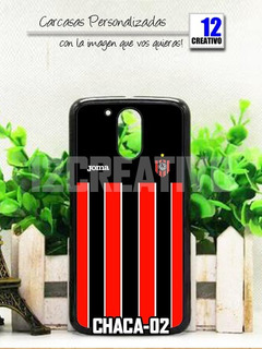 Carcasa Chacarita Juniors Moto G4 G5 Plus - Play Case Funda