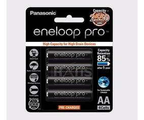 Kit 8 Pilhas Eneloop Pro 2550 - Frete Gratis
