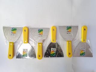 Kit Com 6 Espátula Pedreiro 12 Cm - Melfi Alta Qualidade