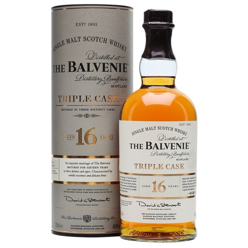 Whisky The Balvenie Triple Cask Single Malt 16 Años Escoces