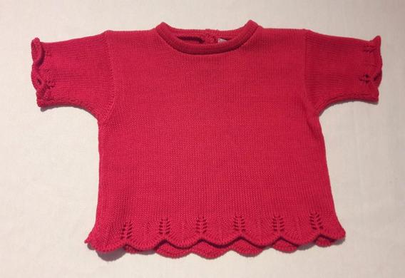 Blusa Linho Bebê Vermelha - Claire Des Anges
