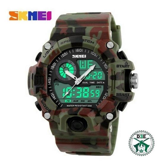 Relógio Masculino Camuflado Militar